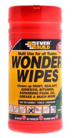WONDER WIPES RENGJØRINGSKLUT  100 wipes